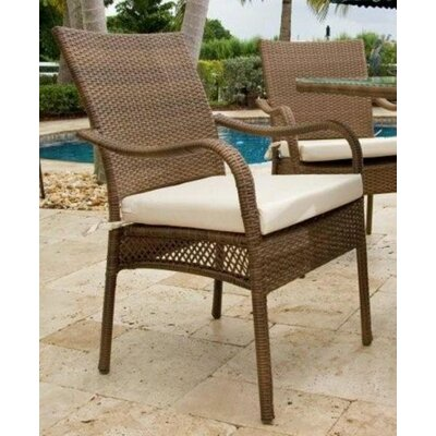 Hospitality Rattan Grenada Patio Dining Arm Chair