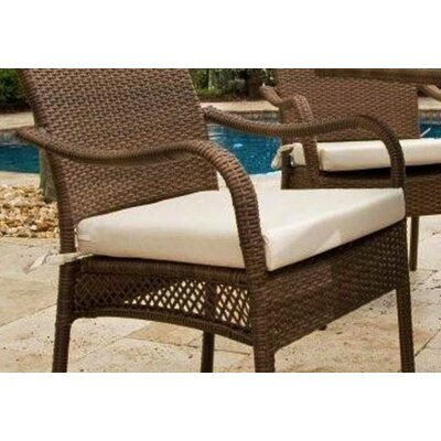 Hospitality Rattan Grenada Patio Dining Arm Chair Cushion