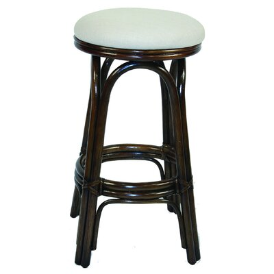 "Hospitality Rattan Carmen 29"" Barstool with Cushion"