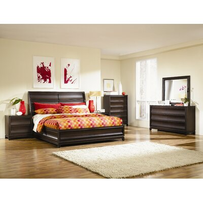 Magnussen Furniture Meridian Island Storage Panel Bed
