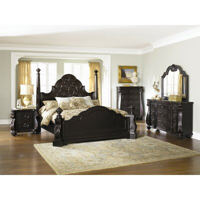 Magnussen Furniture Vellasca Four Poster Bedroom Collection