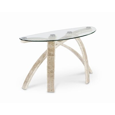 Cascade Demilune Console Table