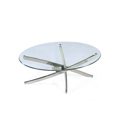 Zila Oval Cocktail Table