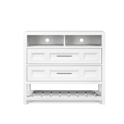 Clearwater 2 Drawer Media Chest