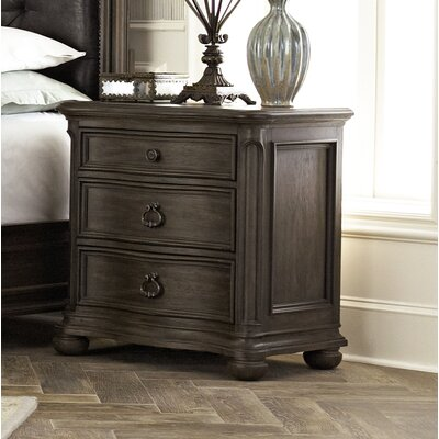 Broughton Hall 3 Drawer Nightstand