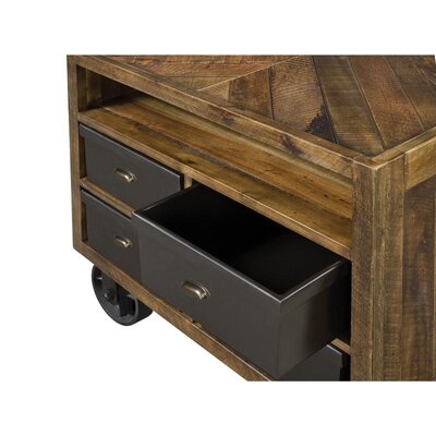 Magnussen Furniture Braxton 4 Drawer Nightstand