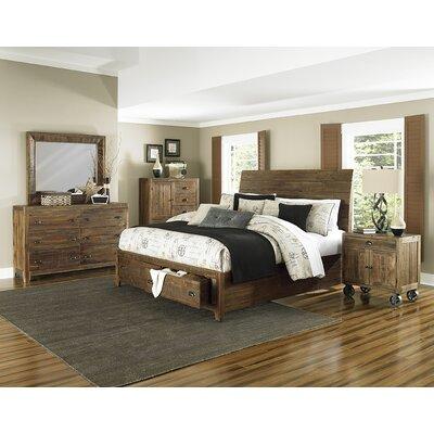 magnussen furniture river ridge island storage bed bedroom set