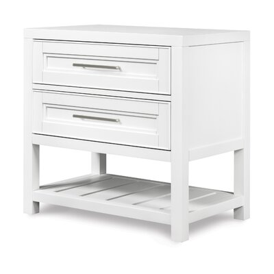 Clearwater 2 Drawer Nightstand