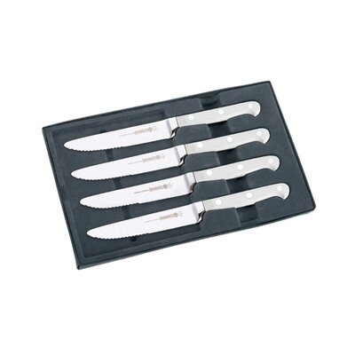 "Mundial 5100 Series 4 Piece 5"" Steak Knife Set"