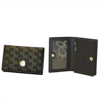 Aristo Business Card Holder in Black