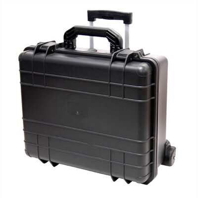 "TZ Case Cape Buffalo Case With Wheels: 9"" H x 18.5"" W x 16"" D"