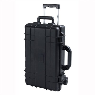 "TZ Case Cape Buffalo Case With Wheels: 9"" H x 22"" W x 14"" D"