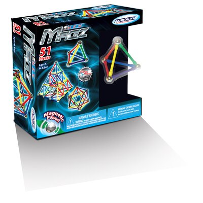 51 Pieces Magz Educational Magnetic Building Set