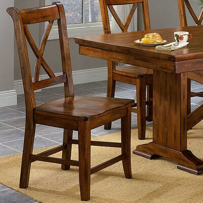 Entree Casual Dining Cornwall Crossback Side Chair