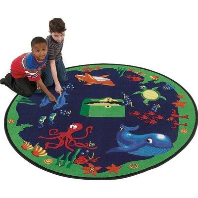 Flagship Carpets Educational Sea Hunt Kids Rug