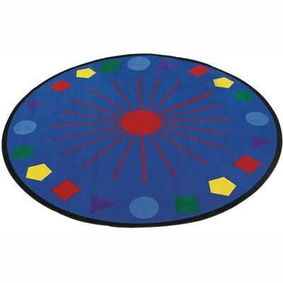Flagship Carpets Educational Shapes Galore Kids Rug