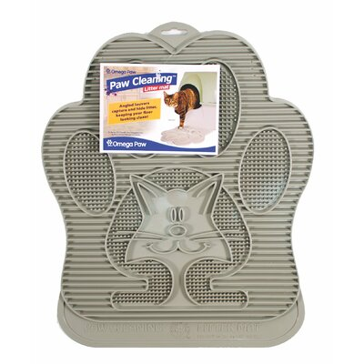 Omega Paw Cat Cleaning Litter Mat