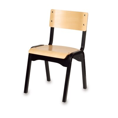 Holsag Carlo Stacking Classroom Chair in Beachwood