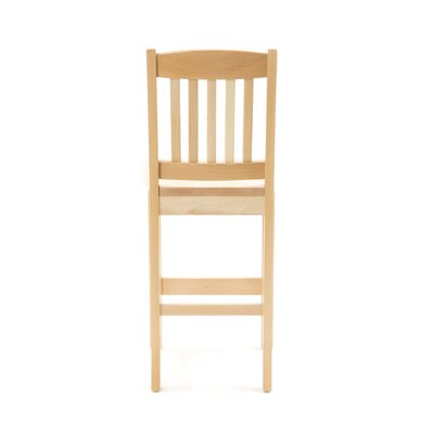 "Holsag Bulldog Natural Bar Stool (24"" - 30"" Seats)"