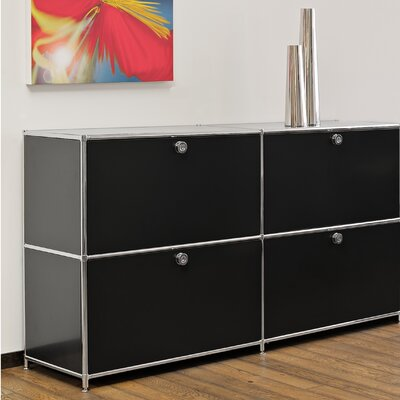Infinita Corporation SYSTEM4 Elite Prestigious Sideboard, TV Media Center or Filing Cabinet