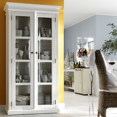 Infinita Corporation Halifax Double Door Curio Cabinet