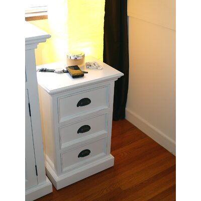 Infinita Corporation Halifax 3 Drawer Nightstand