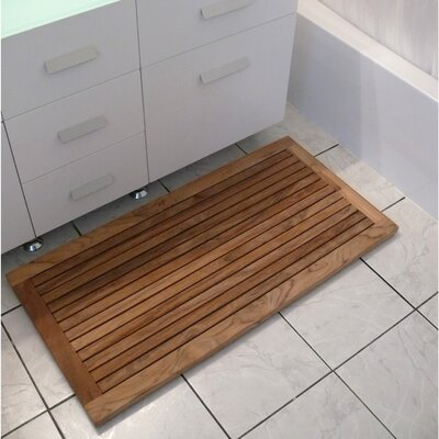 Le Spa Teak Shower Mat