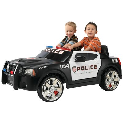 Kid Trax 12V Charger Police Car