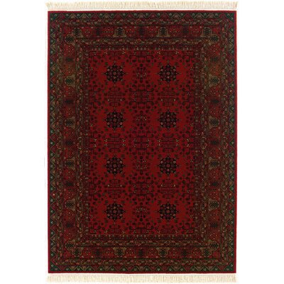 Kashimar Afghan Nomad Red Rug