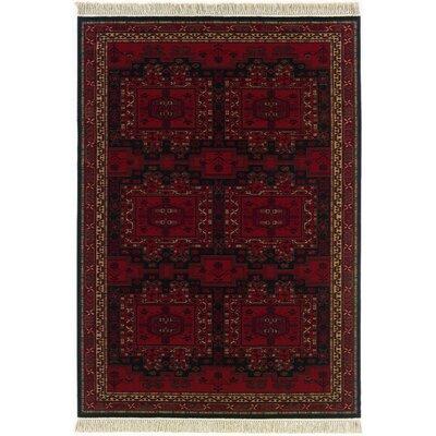Kashimar Oushak Brick Red Rug