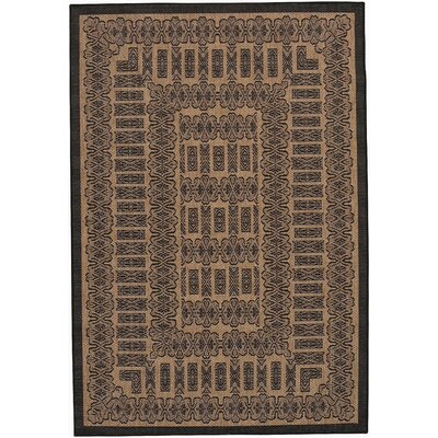Couristan Recife Tamworth Black Cocoa Rug