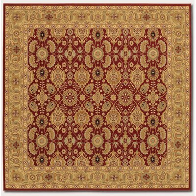 Couristan Royal Kashimar All Over Vase Red Rug