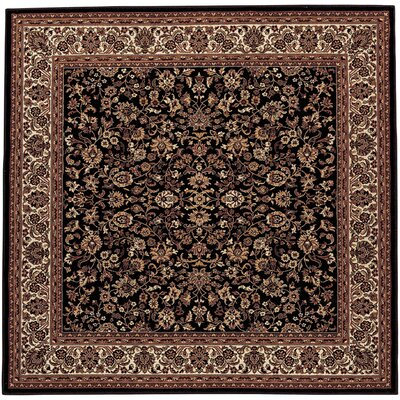 Everest Isfahan Black Rug