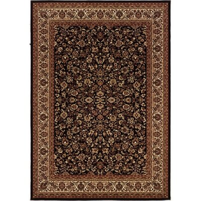 Couristan Everest Isfahan Black Rug