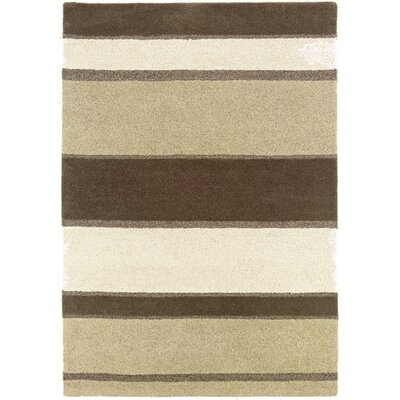 Couristan Super Indo-Natural Retro Stripe Rug