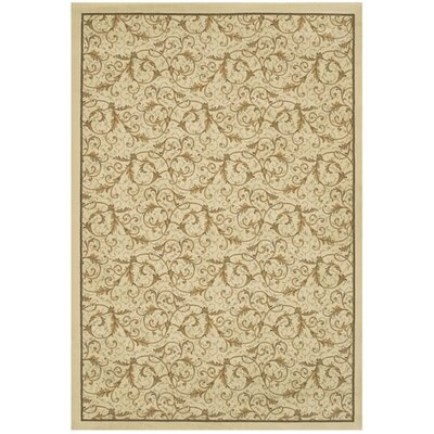 Couristan Everest Royal Scroll Antique Linen Rug