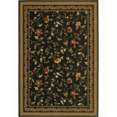 Couristan Royal Luxury Winslow Ebony Rug