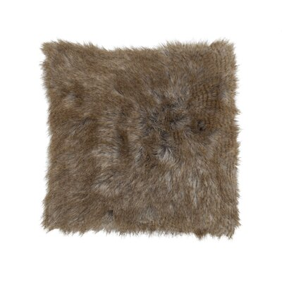 Cloud9 Design Faux Fur Square Pillow