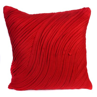Layer Felt Square Pillow