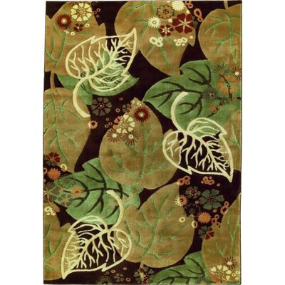Shaw Rugs Impressions Forest Brown/Green Rug