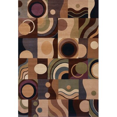 Inspired Design Montecito Light Brown Multi Rug