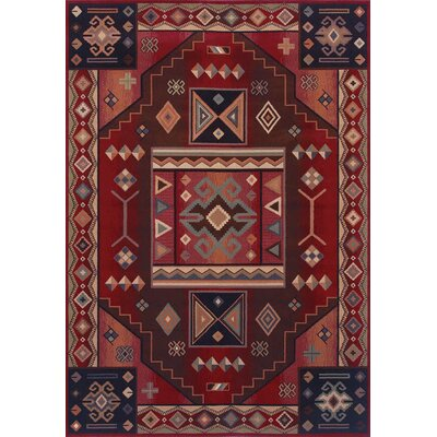 Shaw Rugs Inspired Design Vallero Red Rug