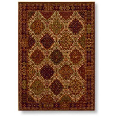 Shaw Rugs Reverie Bennington Red/Beige Rug