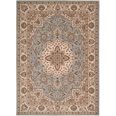 Shaw Rugs Arabesque Easton Blue Smoke Rug