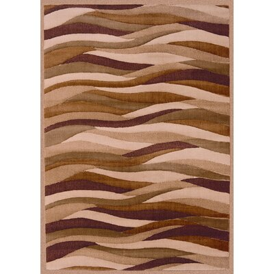 Shaw Rugs Impressions Dunes Brown/Red Rug