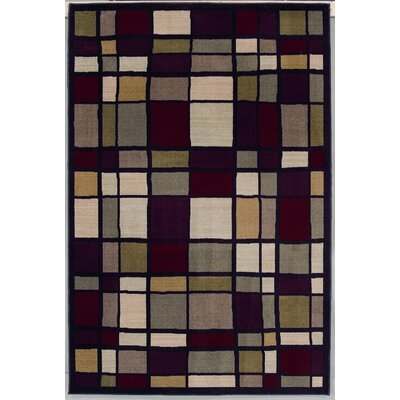 Modern Elements Franklin Black/Grey Rug