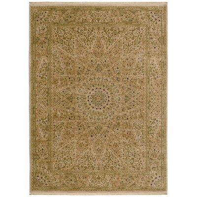 Shaw Rugs Antiquities Mosque Medallion Beige Rug