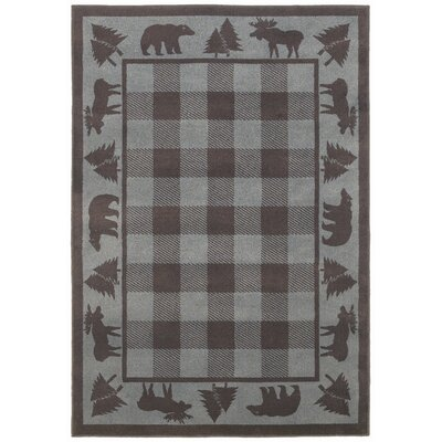 Woodlands Vintage Grey/Blue Rug