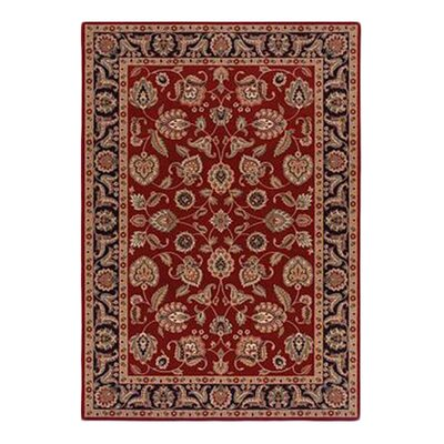 <strong>Shaw Rugs</strong> Inspired Design Chateau Garden Red Rug