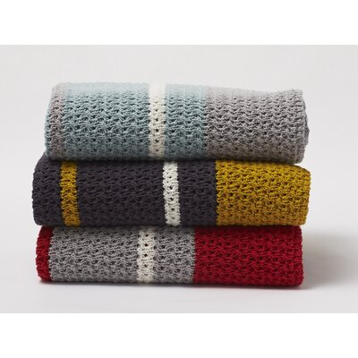 Coyuchi Chunky Knit Cotton Blanket